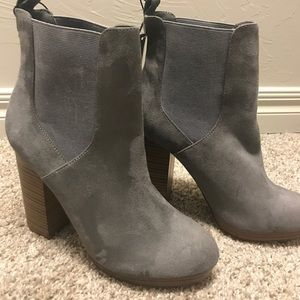 Forever 21 gray boots size 7.5